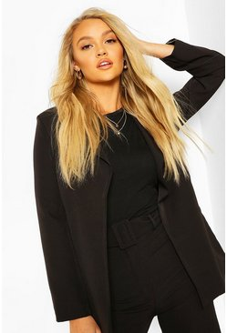 Black Tailored Mix & Match Blazer