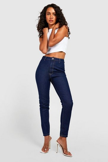 Indigo blue High Rise Disco Jeans