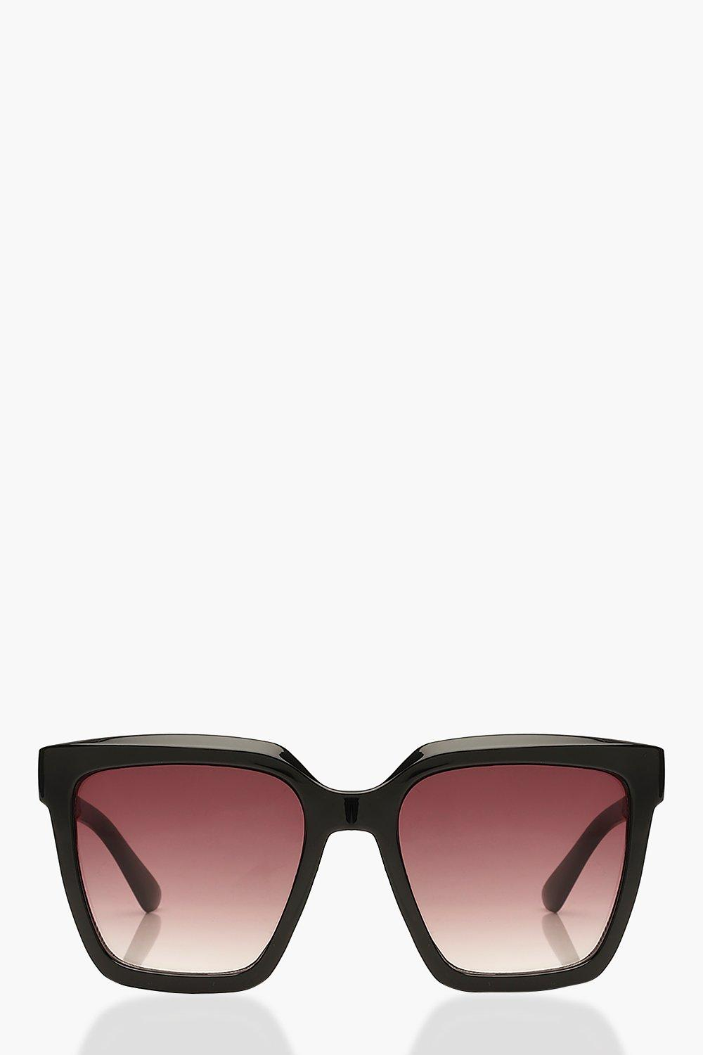 ACCESSORIES Chunky Square Oversized Sunglasses