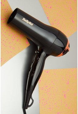 Фен для волос Babyliss Rose Lustre 2400, Black Чёрный