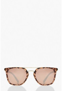 Multi Square Aviator Glasses