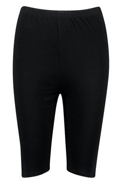 Black Core Basic Jersey Cycling Short