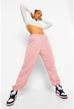 Dusky pink pink Basic Regular Fit Jogger