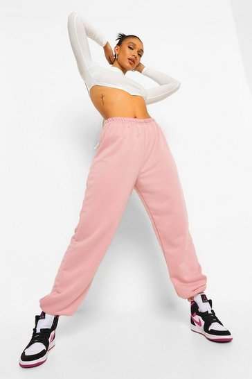 Dusky pink pink Pink Basic Regular Fit Jogger