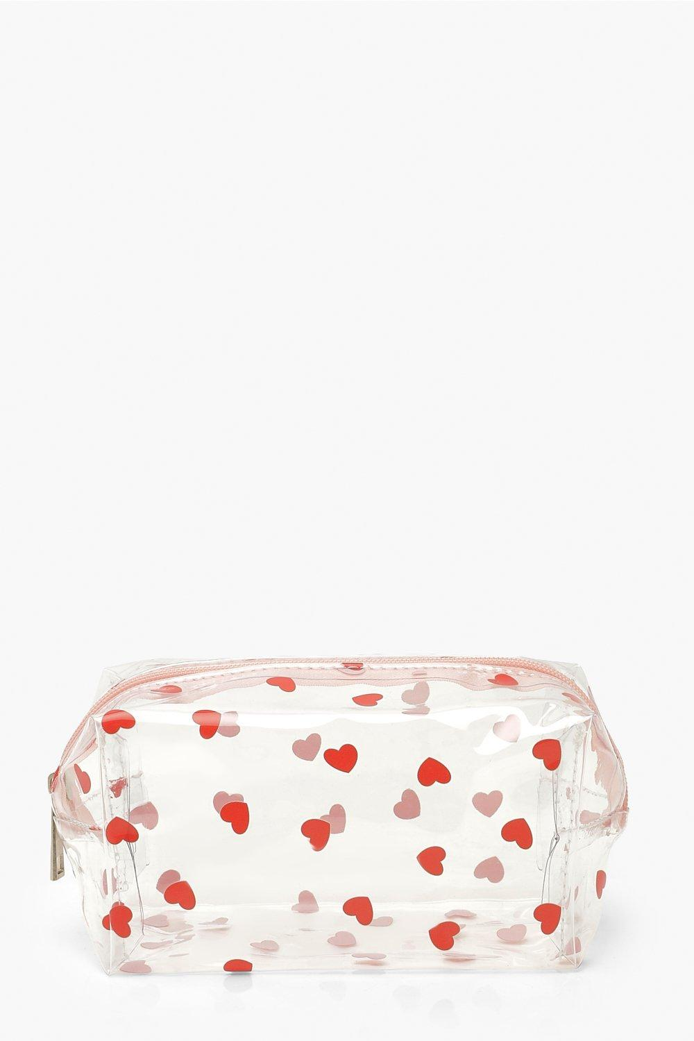 Mother's Day All Over Mini Heart Makeup Bag