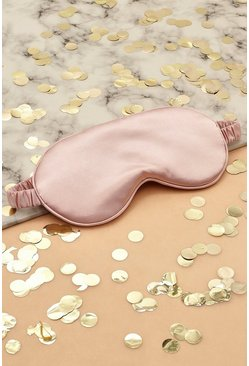 Rose gold metallic Satin Sleep Mask