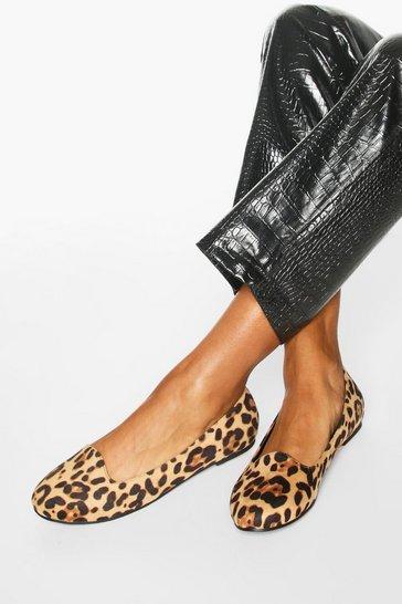 Basic Leopard Slipper Ballets