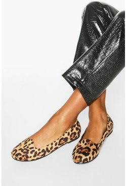 Basic Leopard Slipper Ballets