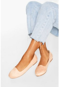 Blush pink Basic Slipper Ballets