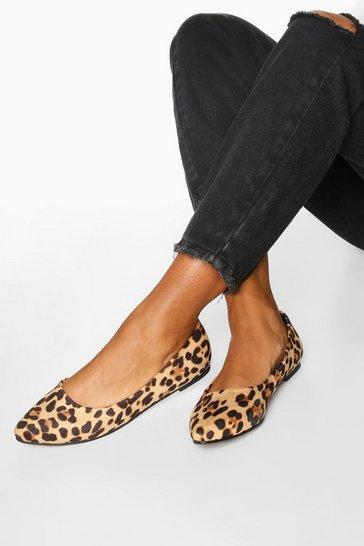 Basic Pointed Leopard Ballets