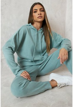 Sage Hoody Knitted Lounge Set