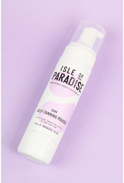 Isle Of Paradise Self Tanning Mousse Dark, Tan marrone