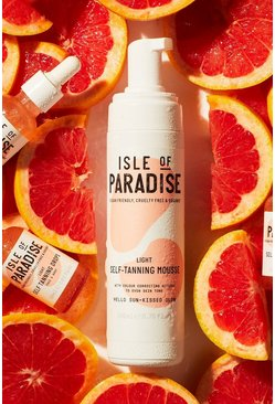 Isle Of Paradise Self Tanning Mousse Light, Tan marrone