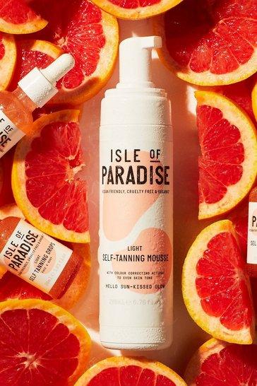 Tan brown Isle Of Paradise Self Tanning Mousse Light