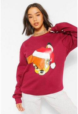 Sweat de Noël  Disney, Berry rouge
