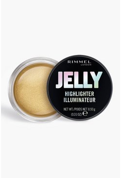Gold metallic Rimmel London Jelly Highlighter - Poppin Bottles