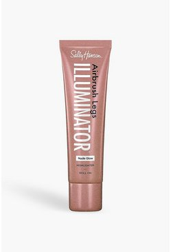 Tan brown Sally Hansen Airbrush Legs Illuminator Nude Glow