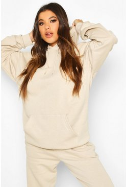 Sand beige The Mix And Match Oversized Hoodie