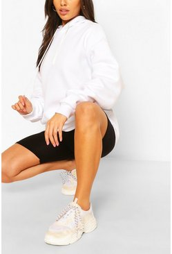 White The Mix And Match Oversized Hoodie