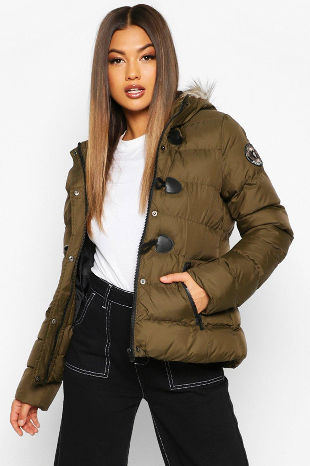 Puffer Jackets Short Quilted Puffer Jacket