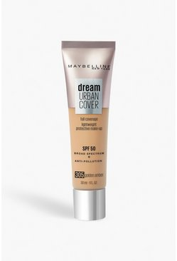 Beige Maybelline Urban Foundation - 305 Golden Amber