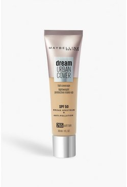 Beige Maybelline Urban Foundation 265 Soft Tan