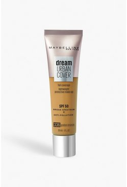 Maybelline Urban Foundation 336 Golden Beige, Beis