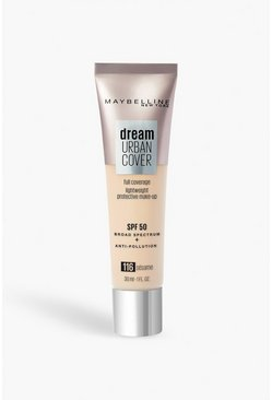 Beige Maybelline Urban Foundation 116 Sesame