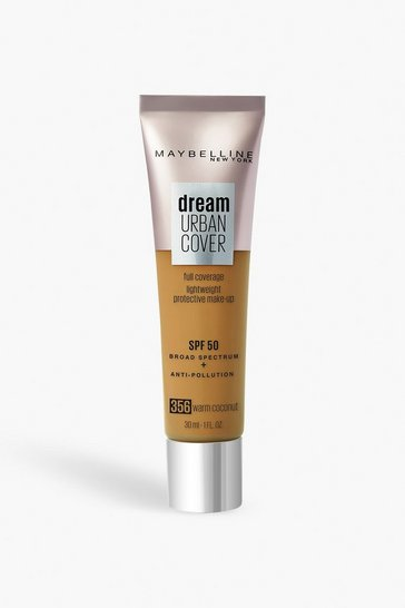 Beige Maybelline Urban Foundation 356 - Warm Coconut