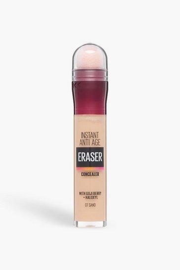 Cream white Maybelline Eraser Eye Concealer 07 Sand