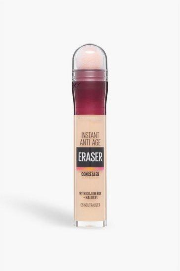 Cream white Maybelline Eraser Eye Concealer 06 Neutraliser