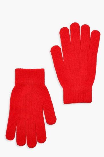 Red Basic Gloves
