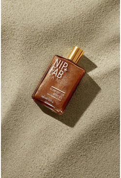 Tan brown Nip + Fab Tanning Glow Body Oil 100ml