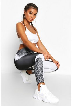 Black Fit Contouring Yoga Leggings