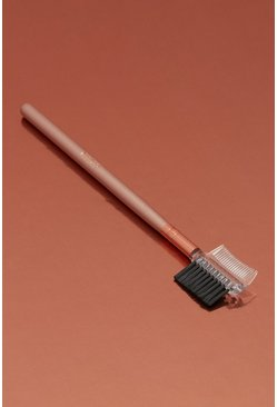 Nude Boohoo Eyebrow & Lash Groomer Brush