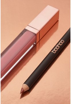 Nude Boohoo Matte Lip Kit