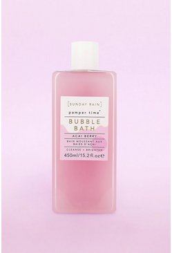Pink Sunday Rain Bubble Bath Acai Berry