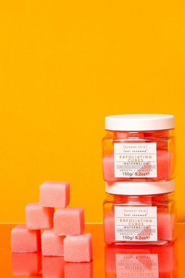 Pink Sunday Rain Exfoliating Cubes Watermelon