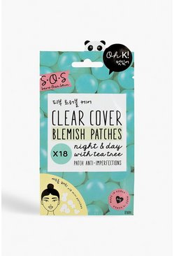 Oh, K ! Patchs anti-imperfections SOS, Bleu
