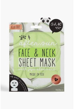 Green Oh K! After Sun Aloe Sheet Face & Neck Mask