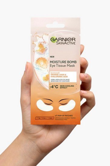 White Garnier Hyaluronic Acid & Orange Eye Mask