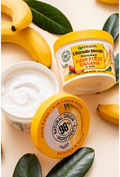 Masque pour les cheveux banane 390 ml Garnier Ultimate Blends Hair Food, Jaune