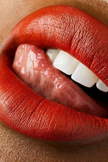 Orange Sleek Soft Matte Lip Click You Already Know
