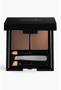 Brown brun Sleek Brow Kit Medium 3.8g