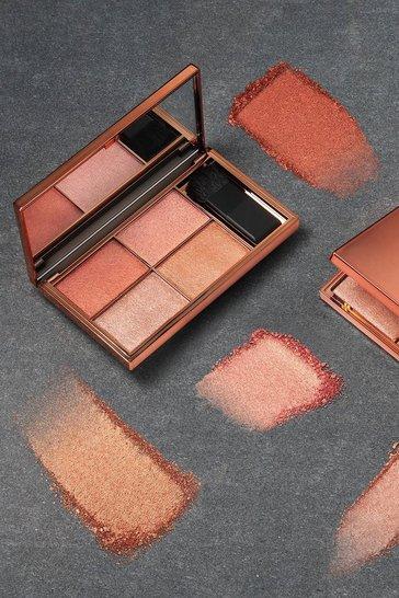 Copper orange Sleek Highlighter Palette Copperplate