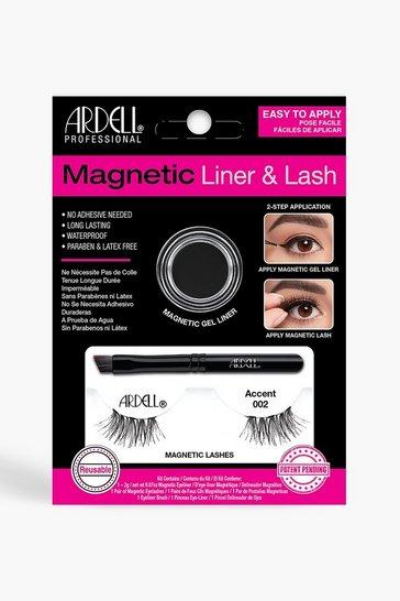 Black Ardell Magnetic Accent 002 Lash Kit