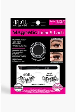Black Ardell Magnetic Demi Wispies Lash Kit