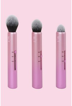 Pink Real Techniques Custom Cheek Brushes