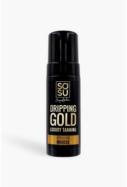 Mousse ultra scura Dripping Gold SOSU, Marrone chiaro marrone
