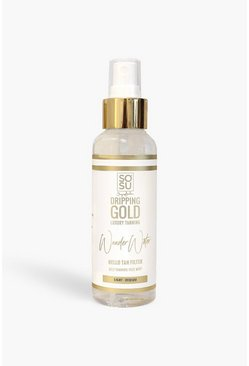 Acqua abbronzante Dripping Gold SOSU - media, Trasparente clear